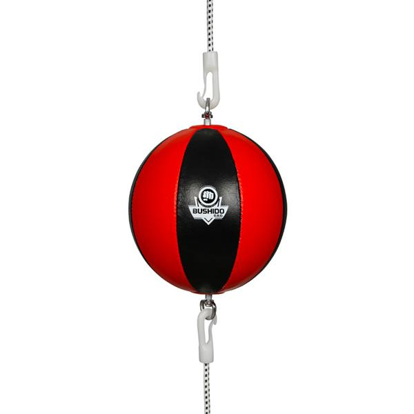 Reflexní míč, speedbag DBX BUSHIDO ARS-1164 černo-červený
