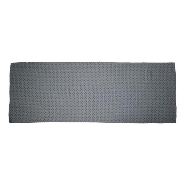 Ručník na jógu TUNTURI 180 x 63 cm s taškou rozložená