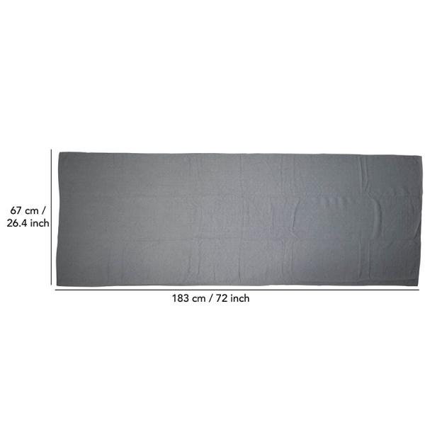 Ručník na jógu TUNTURI 180 x 63 cm s taškou rozměry