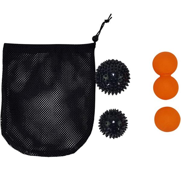 Masážní míčky - sada 4 ks TUNTURI míčky obal