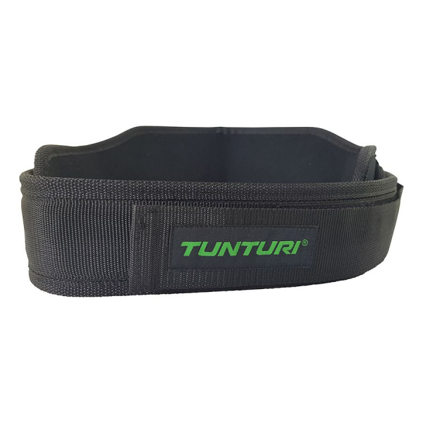 Vzpěračský pás TUNTURI nylon detail 3