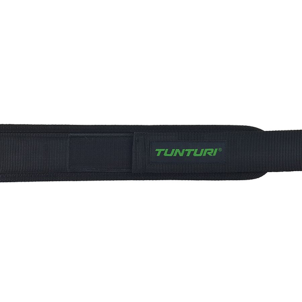 Vzpěračský pás TUNTURI nylon logo