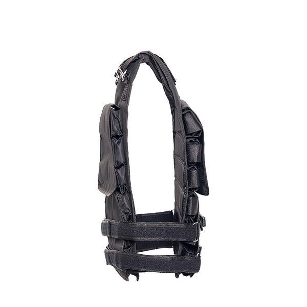 Zátěžová vesta DBX BUSHIDO 1-36 kg sstrana