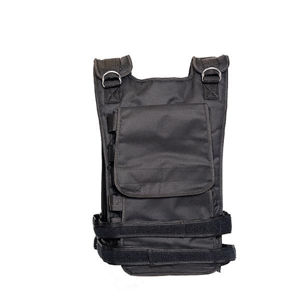 Zátěžová vesta DBX BUSHIDO 1-36 kg zezadu