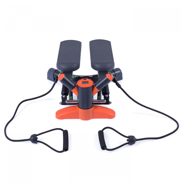 Mini stepper HOUSEFIT SOIRA twist stepper grafit zezadu