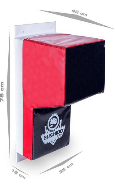 Tréninkový blok na zeď DBX BUSHIDO TS rozměry