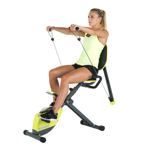 Rotoped HAMMER Home Trainer Wonderbike předpažování na ramena