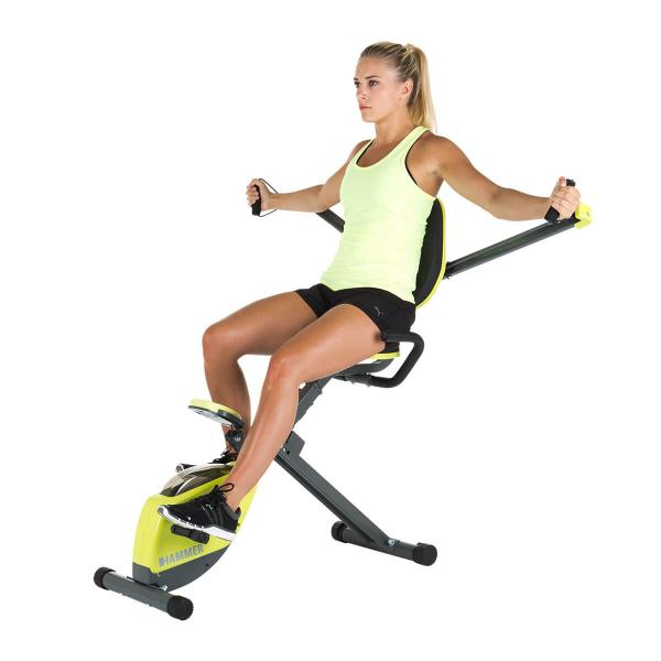 Rotoped HAMMER Home Trainer Wonderbike rozpažky na prsa
