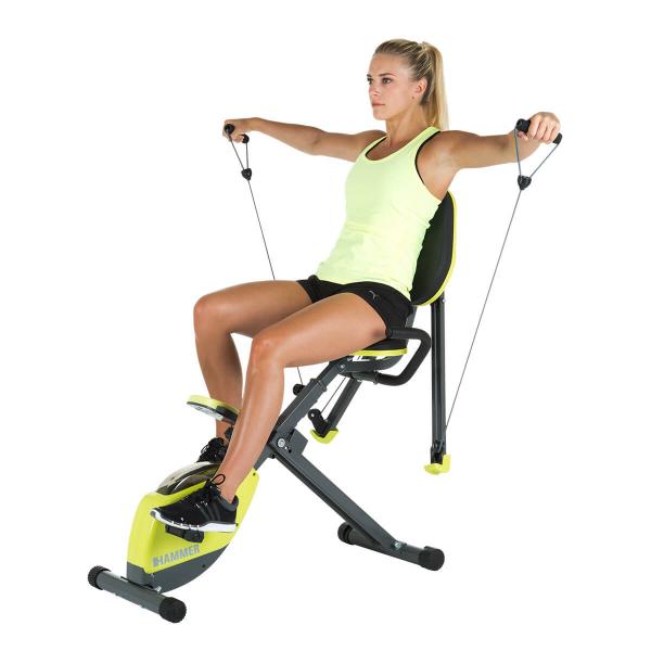 Rotoped HAMMER Home Trainer Wonderbike rozpažky na ramena