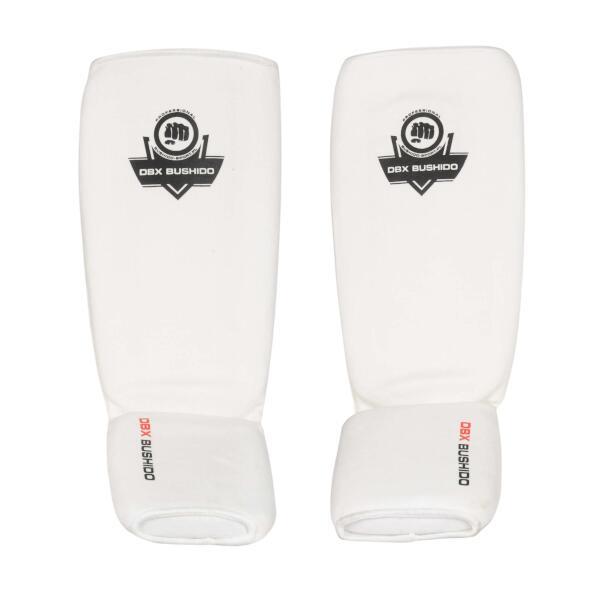 Chrániče holení a nártu DBX BUSHIDO ARP-2107 B bílé bez nohou