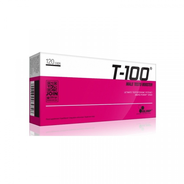 OLIMP T-100 Male Testo Booster 120 kapslí balení