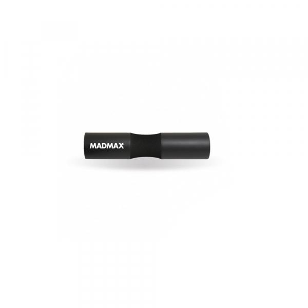 Obal na osu - pěnový barbell pad MADMAX černý