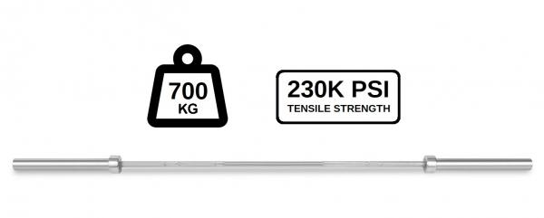 Olympijská osa 2200 mm PROFI 700 kg