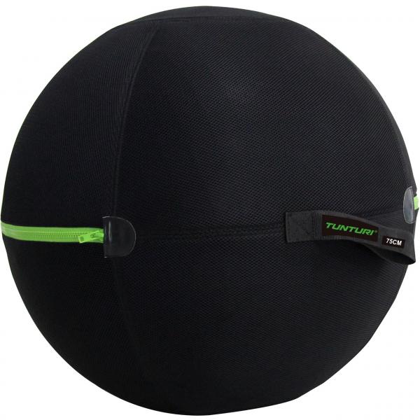 Potah na gymnastický míč TUNTURI zapnutý