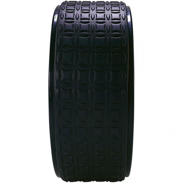 Jóga kolečko yoga wheel EVA TUNTURI černé 33 cm profil