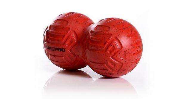 Masážní míček - dvojitý LIVEPRO