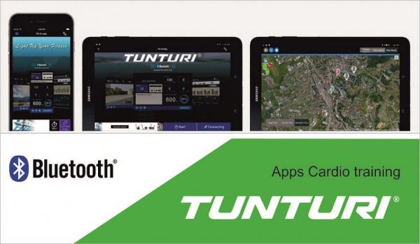 Eliptický trenažér Tunturi_apps_3a