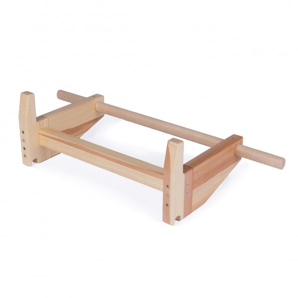 Dřevěná hrazda na ribstole Fitham_04