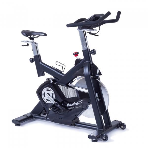 Cyklotrenažér HouseFit Racer 70 iTrain_přední pohled