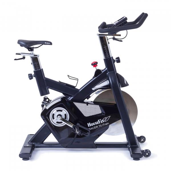 Cyklotrenažér HouseFit Racer 70 iTrain_boční pohled