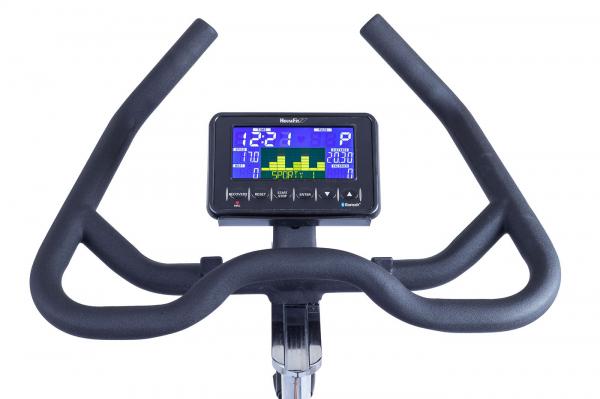 Cyklotrenažér HouseFit Racer 70 iTrain_kokpit