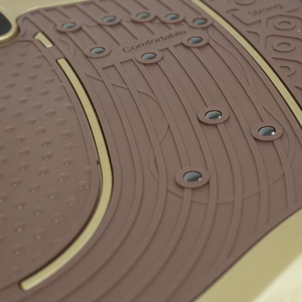 Vibrační deska HMS BS02 zlatá  detail 2