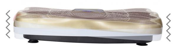 Vibrační deska HMS BS02 zlatá vibrace