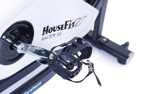 Cyklotrenažér HouseFit Racer 50_pedál