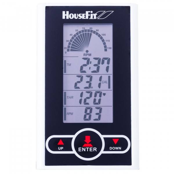 Cyklotrenažér HouseFit Racer 50_počítač