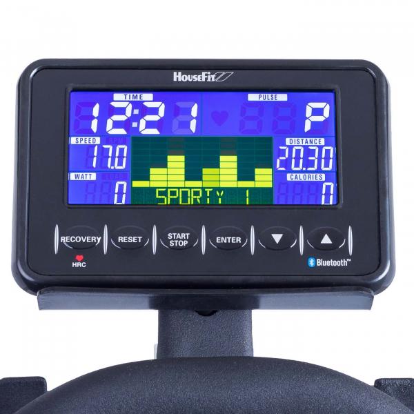 Cyklotrenažér Housefit Racer 70 iTrain_počítač