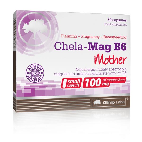 OLIMP Chela-Mag B6 Mother 30 kapslí