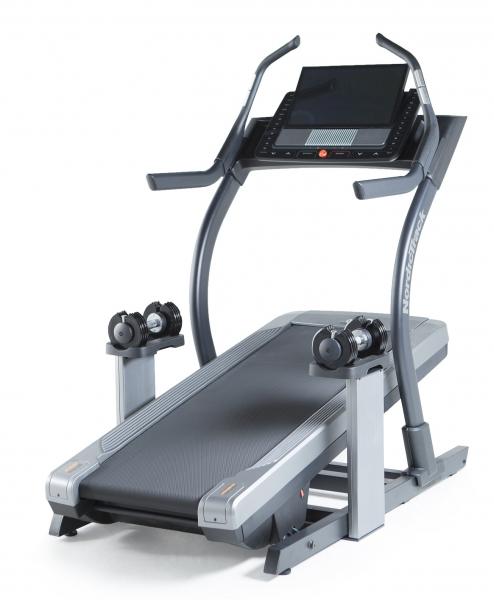 Běžecký pás NORDICTRACK X22i Incline Trainer s činkami 2