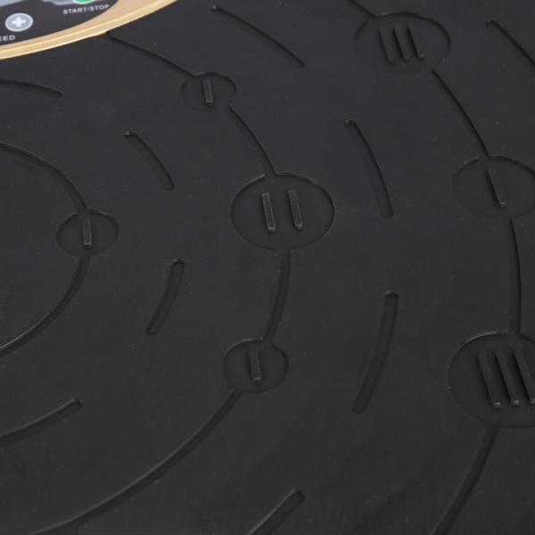 Vibrační deska HMS SVP01 SKY zlatá detail