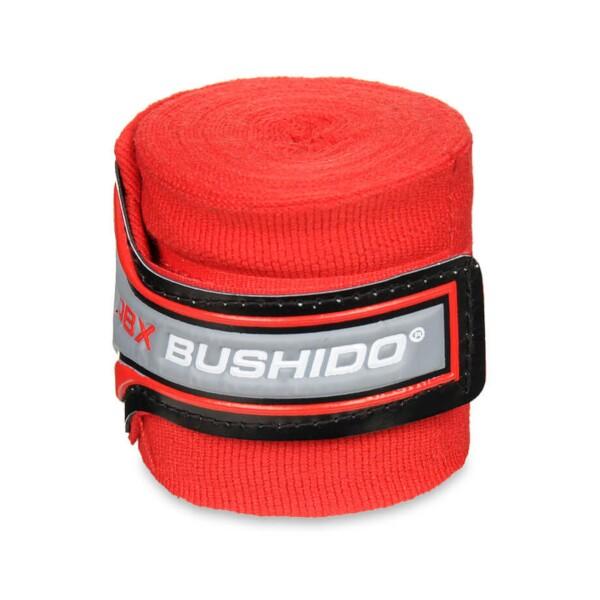 Boxerská omotávka DBX BUSHIDO PRO červená detail 1