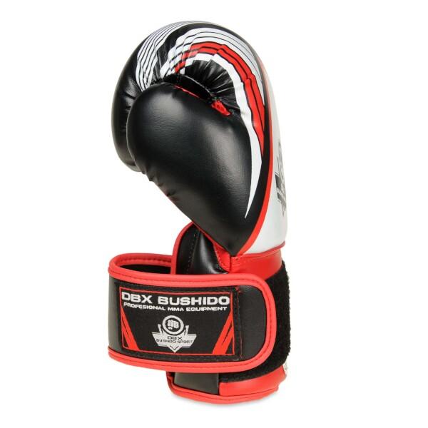 Boxerské rukavice - dětské DBX BUSHIDO ARB-407 6 oz. červená detail 2