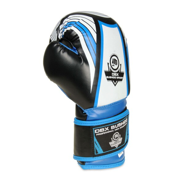 Boxerské rukavice - dětské DBX BUSHIDO ARB-407 6 oz. modrá detail 2