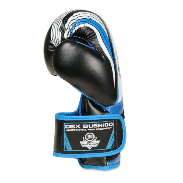 Boxerské rukavice - dětské DBX BUSHIDO ARB-407 6 oz. modrá detail 3