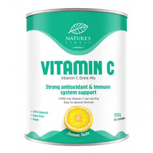 NUTRISSLIM Vitamin C Drink Mix 150 g citron