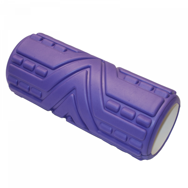 Masážní válec 33 cm fialový