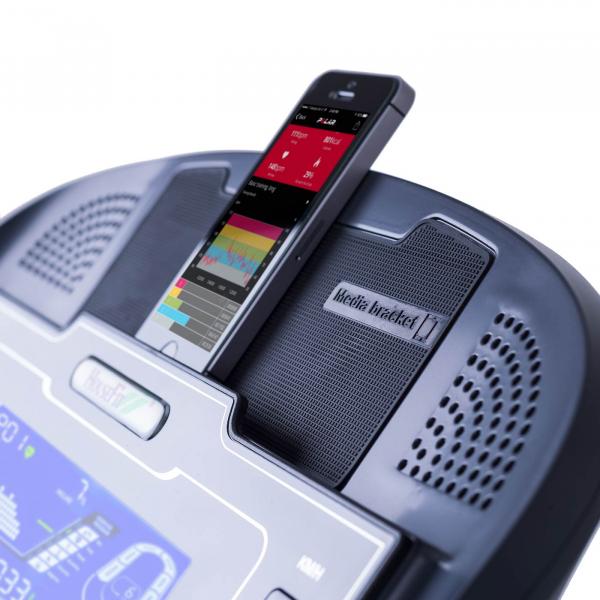 Běžecký pás Housefit SPIRO 40 iRUN držák na mobil/tablet