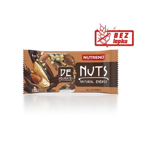 NUTREND DeNuts 40 g mandle