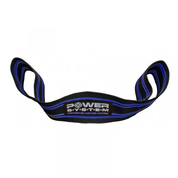 Odporová guma Bench Blaster Ultra POWER SYSTEM modrá 1