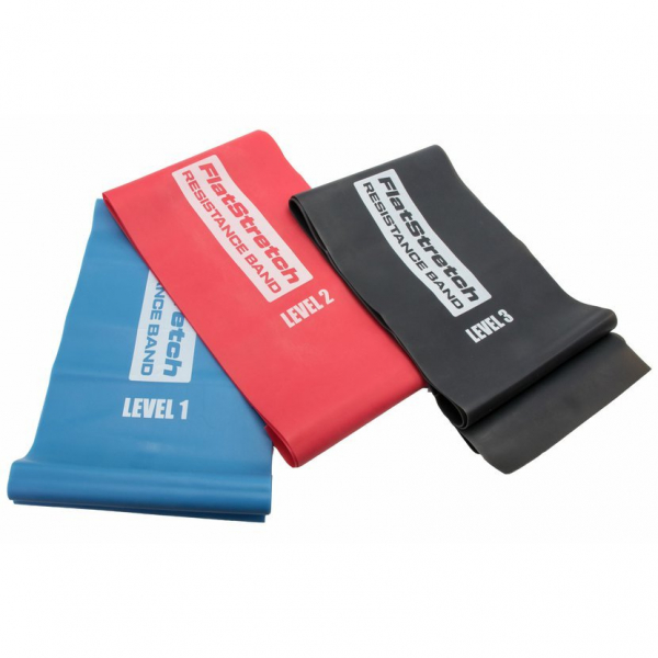 Posilovací guma Flat Stretch Band POWER SYSTEM  all