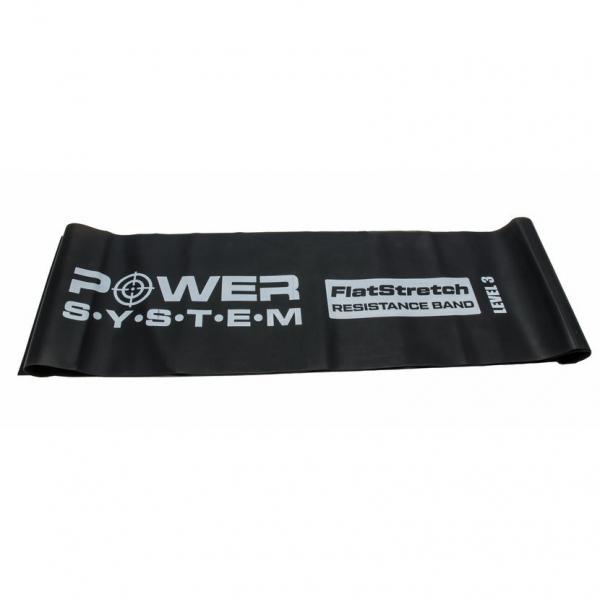 Posilovací guma Flat Stretch Band POWER SYSTEM  level 3