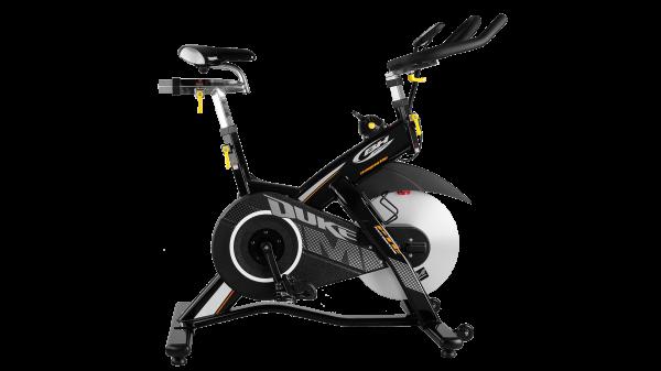 Cyklotrenažér BH Fitness DUKE MAGNETIC - boční pohled