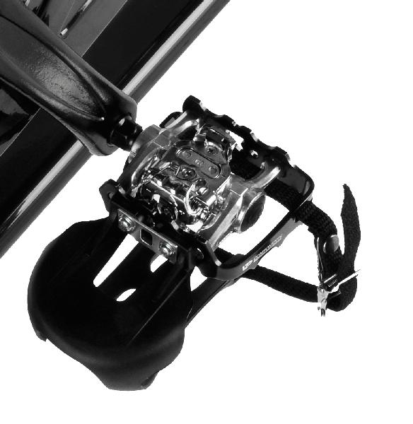 Cyklotrenažér BH Fitness DUKE MAGNETIC - detail