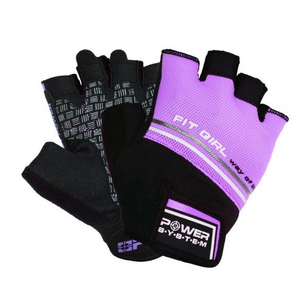 Fitness rukavice Fit Girl Evo fialové