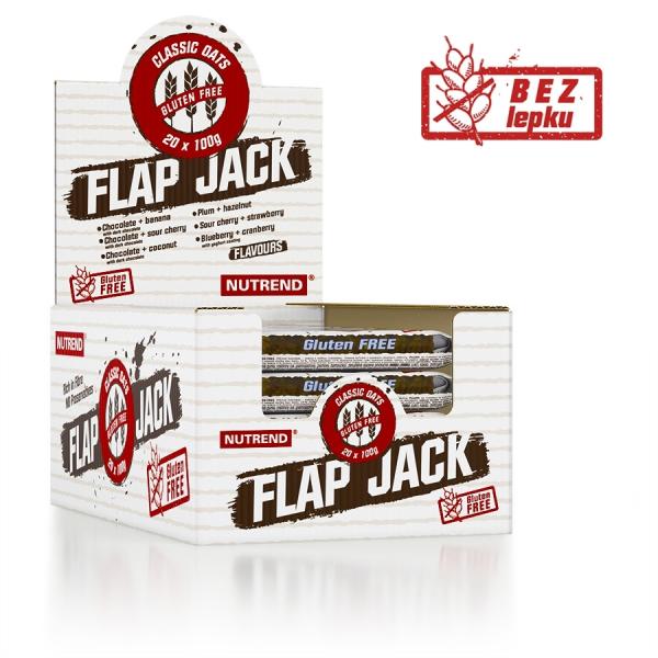 NUTREND Flapjack Gluten Free 100 g balení