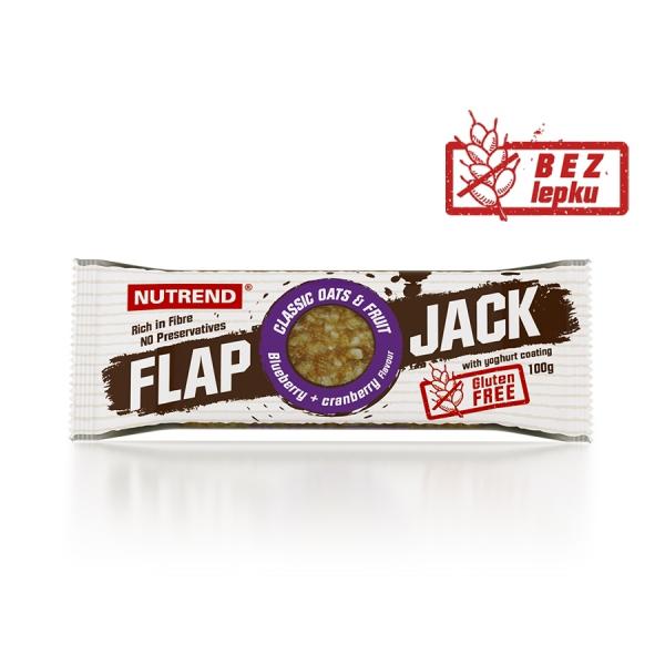NUTREND Flapjack Gluten Free 100 g borůvka