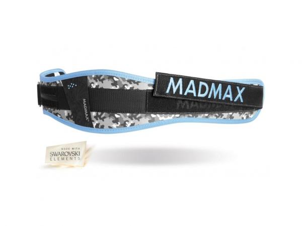 Fitness opasek WMN Conform MADMAX modrý